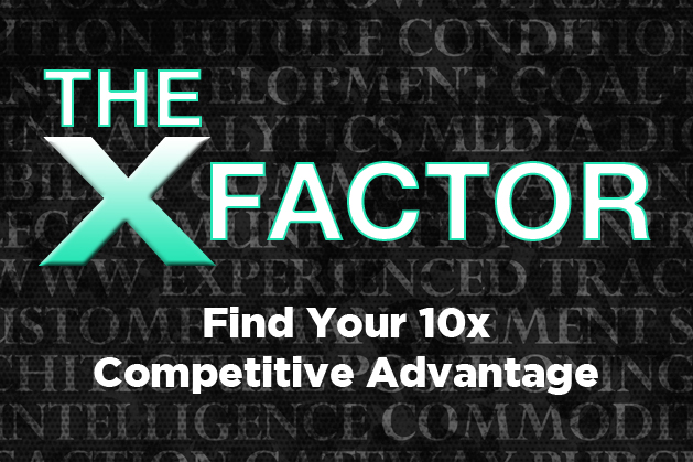 The X-Factor: Find Your Company's 10x Competitive Advantage